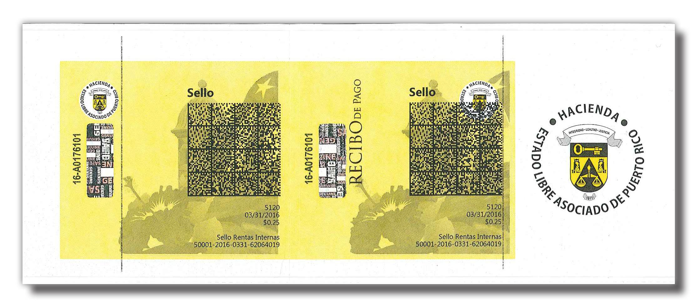 Banca Oriental De Puerto Rico: imprimir y/o vender sellos y comprobantes – Microjuris – Puerto Rico