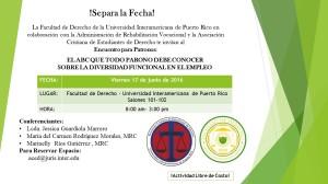 Promoción Encuentro para Patronos (17 junio 2016)