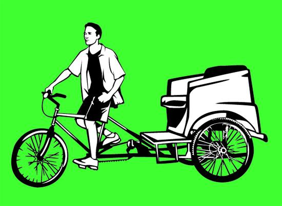 Proponen ley para ciclotaxis en Puerto Rico