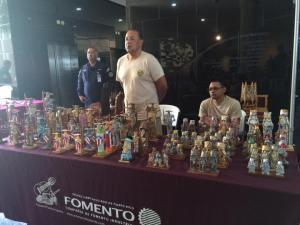 Exención de aranceles para artesanos en ferias artesanales