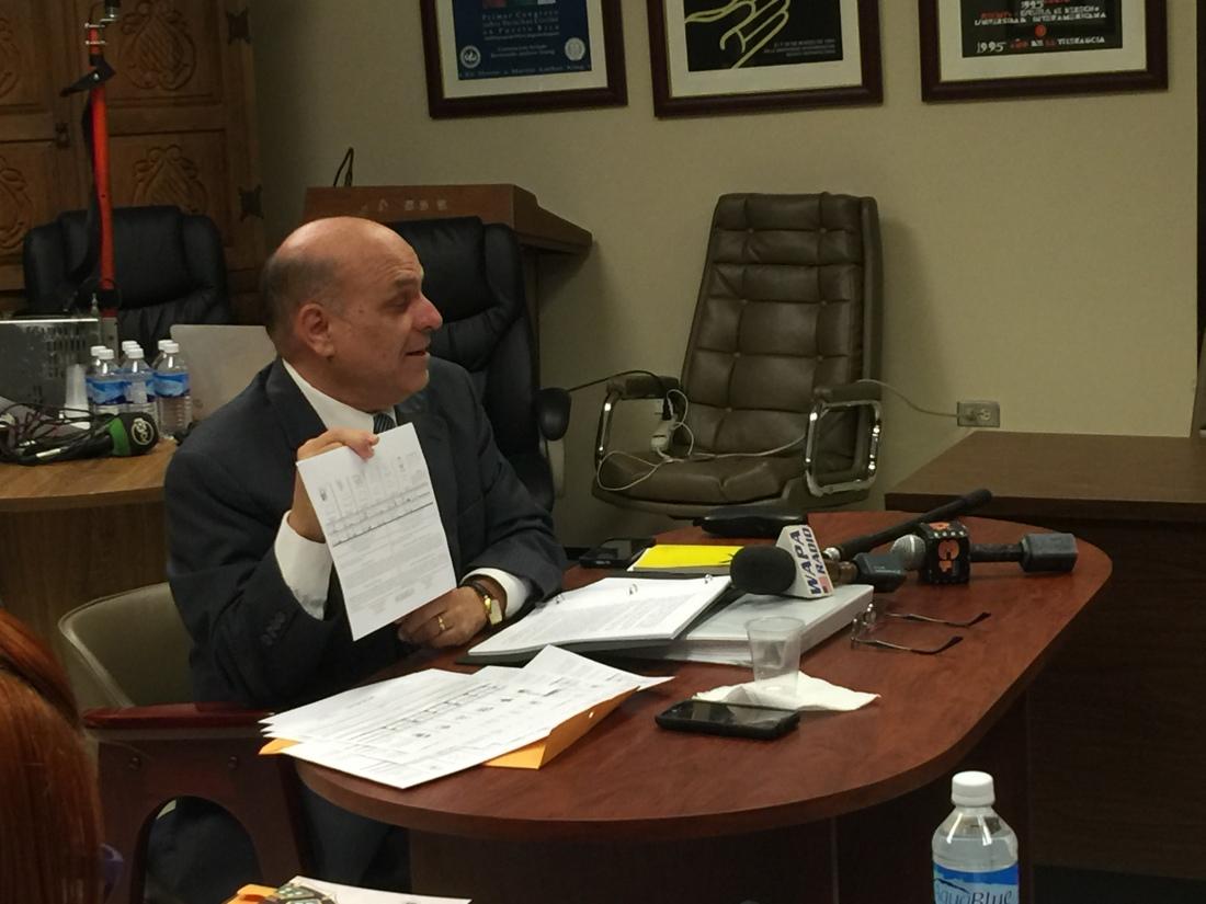 Ponencia del Lcdo. Héctor Luis Acevedo ante la Comisión de Derechos Civiles por alegada violación a derechos de los electores