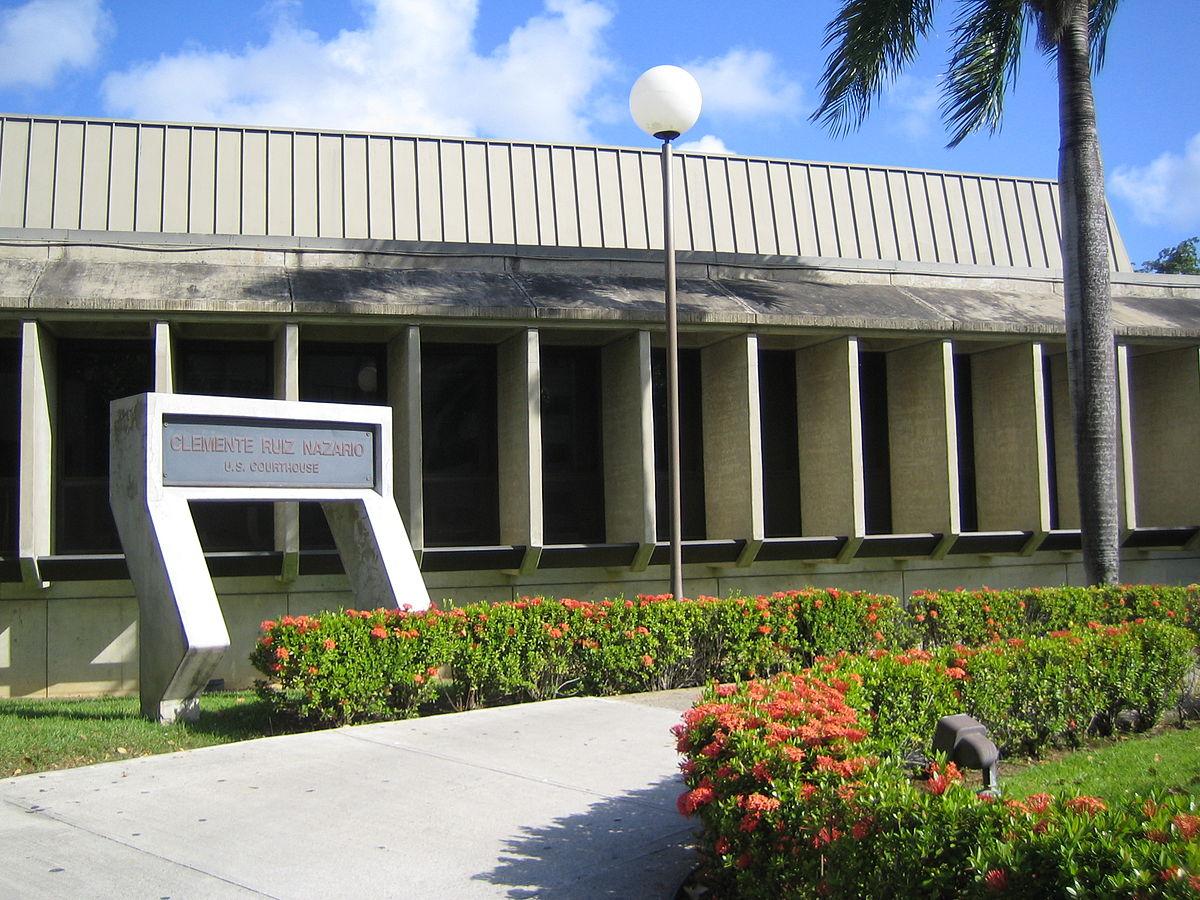 ribunal Federal para el Distrito de Puerto Rico