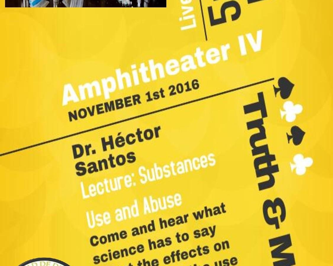 Inter Derecho presenta conferencia de uso y abuso de sustancias