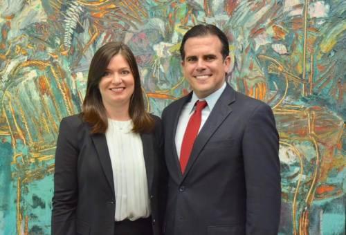 Maite Oronoz y Ricardo Rosselló