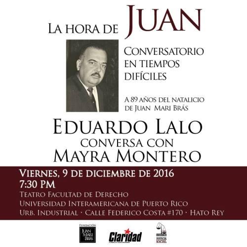 Celebran los 89 del Lcdo. Juan Mari Brás en la Inter Derecho