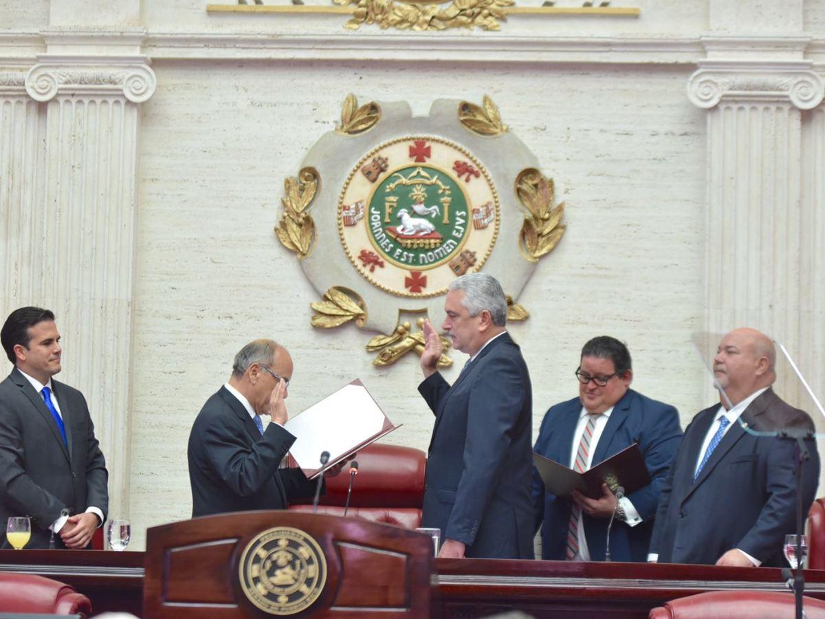 Rivera Schatz juramenta por segunda ocasión como Presidente del Senado
