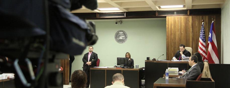 Transmisión en vivo tribunales