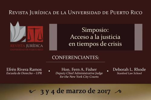 Simposio de Acceso a la Justicia RevJurUPR