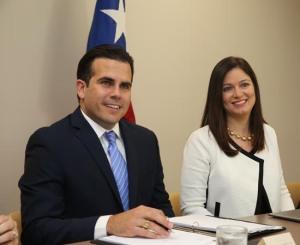 Encuentro sobre el acceso a la justicia entre la juez presidenta y el gobernador