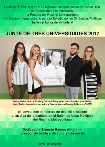 Presentan publicación sobre la vida y obra de Ernesto Ramos Antonini en la Inter Metro