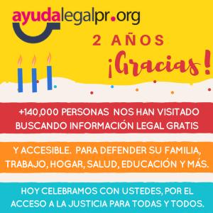AyudaLegalPR.org y grupos pro bono de las escuelas de Derecho hacen un frente común para defender el acceso a la justicia en Puerto Rico