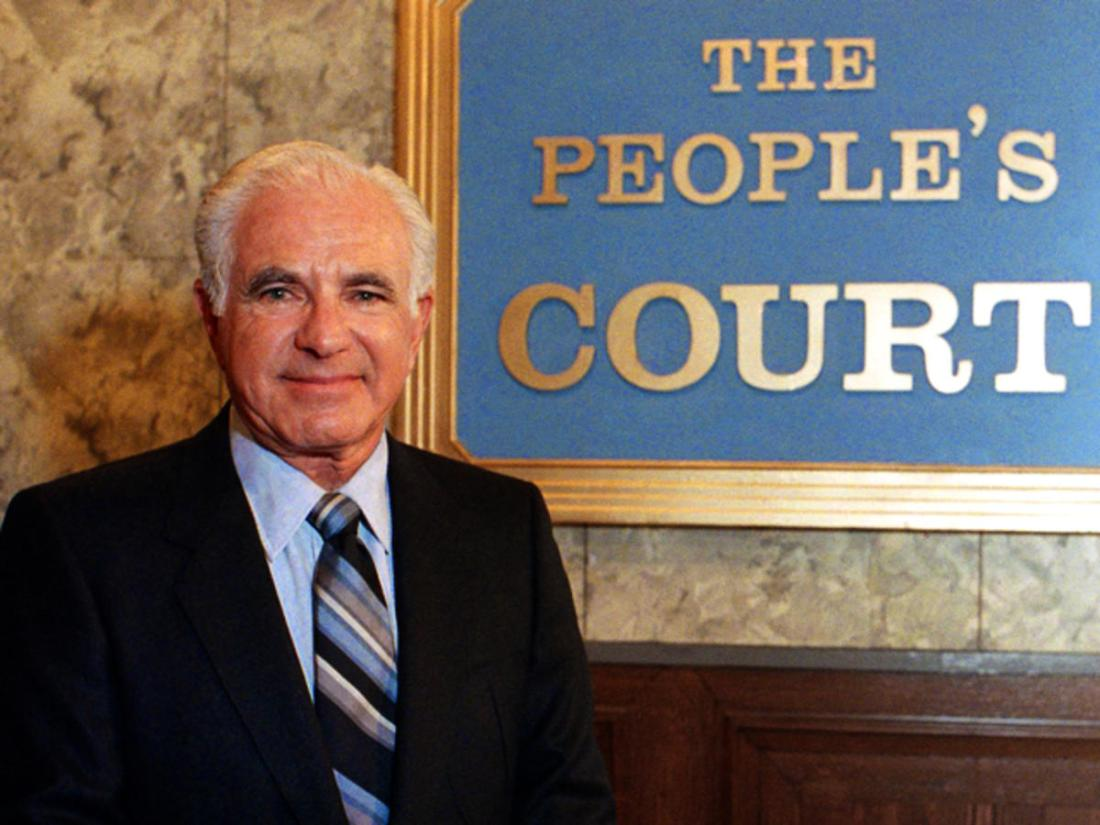 "Muere juez del programa televisivo ""The People's Court"""