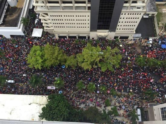 Arrestados y procesados manifestantes