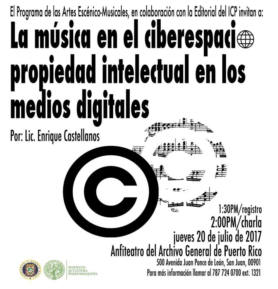[CHARLA] La música en el ciberespacio: propiedad intelectual en los medios digitales