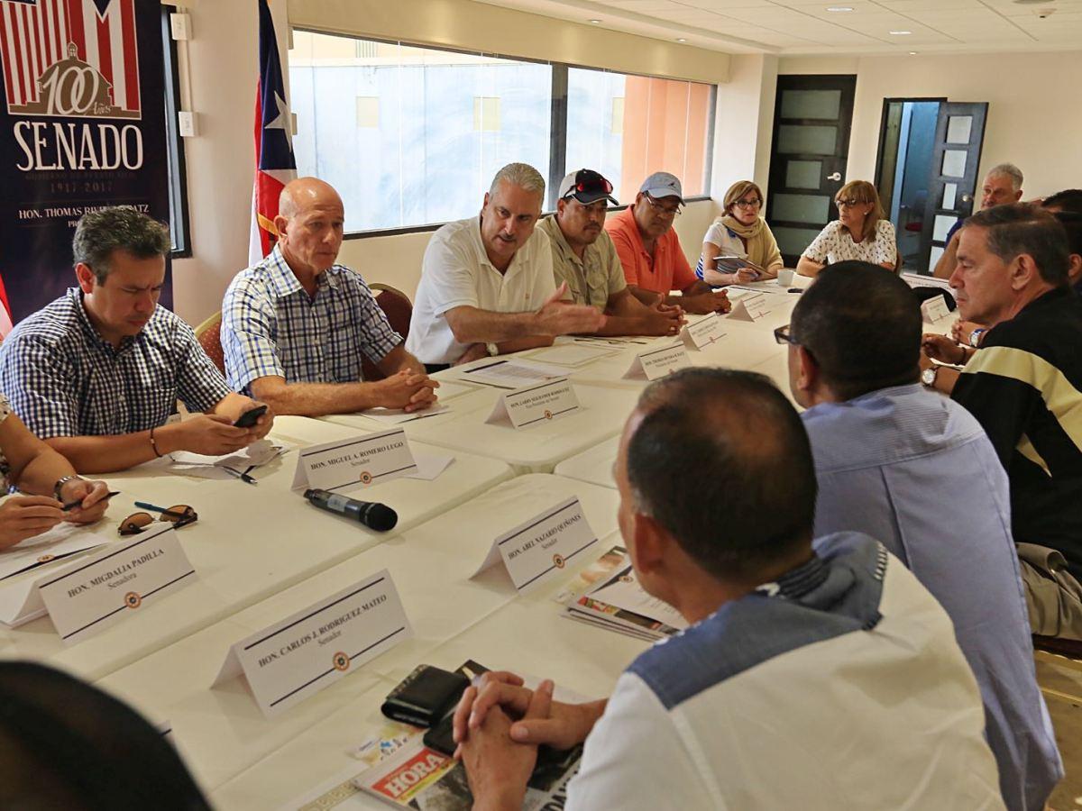 Delinean estrategias y agenda legislativa luego del paso del huracán María