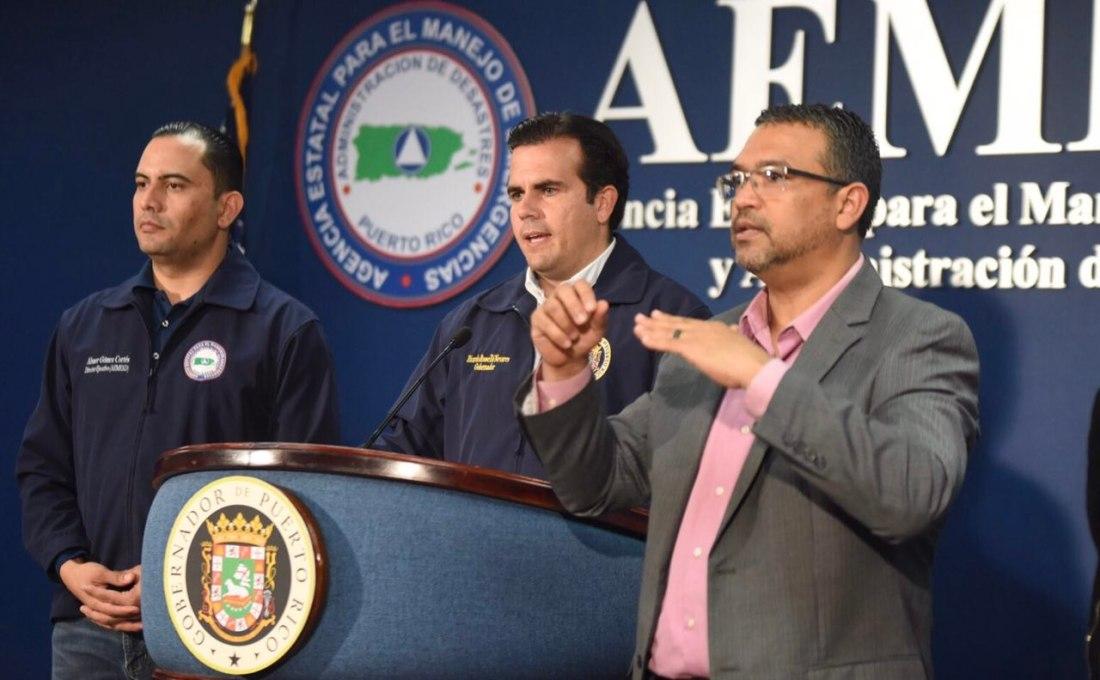 Gobernador advierte es tiempo de estar en su hogar o en un refugio seguro
