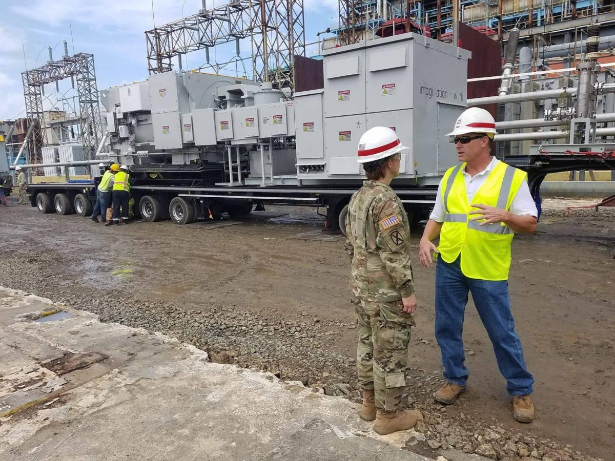 Cuerpo de Ingenieros revela plan para energizar a la isla: Podría tomar un año