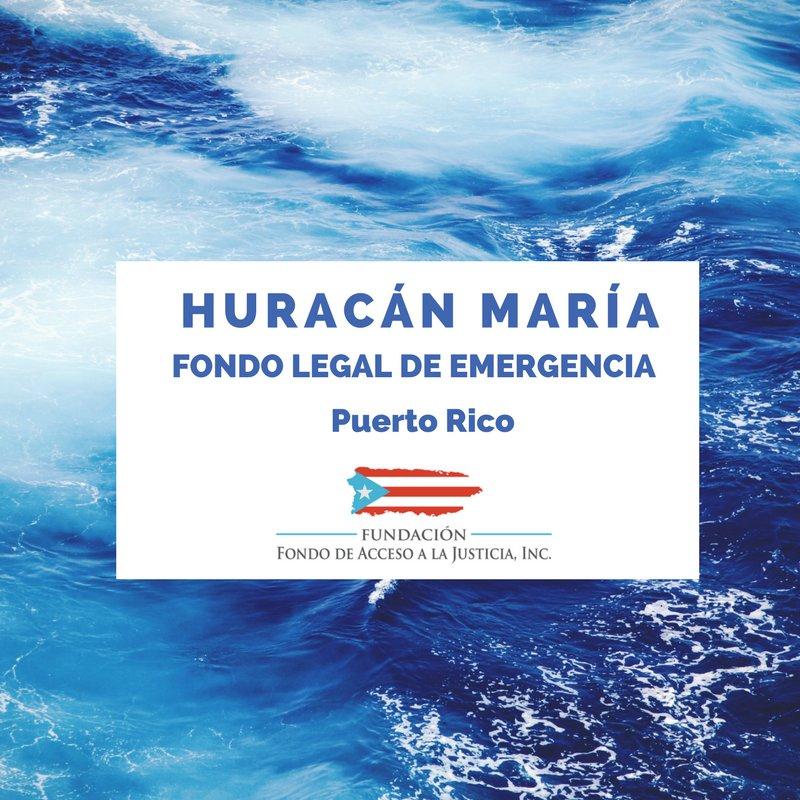 La Fundación Fondo de Acceso a la Justicia cuenta con Fondo Legal de Emergencia