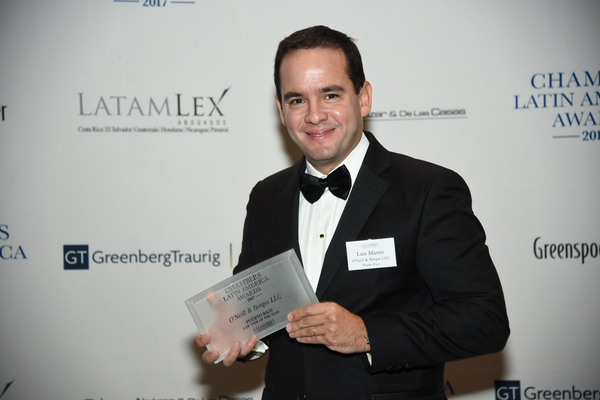 O'Neill & Borges LLC: Chambers Puerto Rico Law Firm of the Year Award 2017