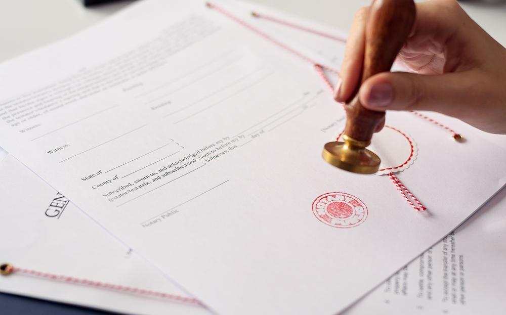 Designación del notario sustituto: Procedimiento