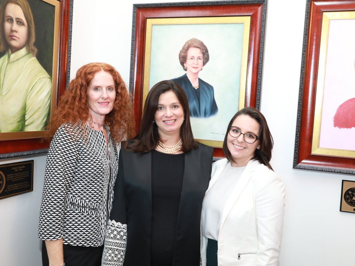 Rinden homenaje a primera Jueza Presidenta del Tribunal Supremo, Miriam Naveira Merly
