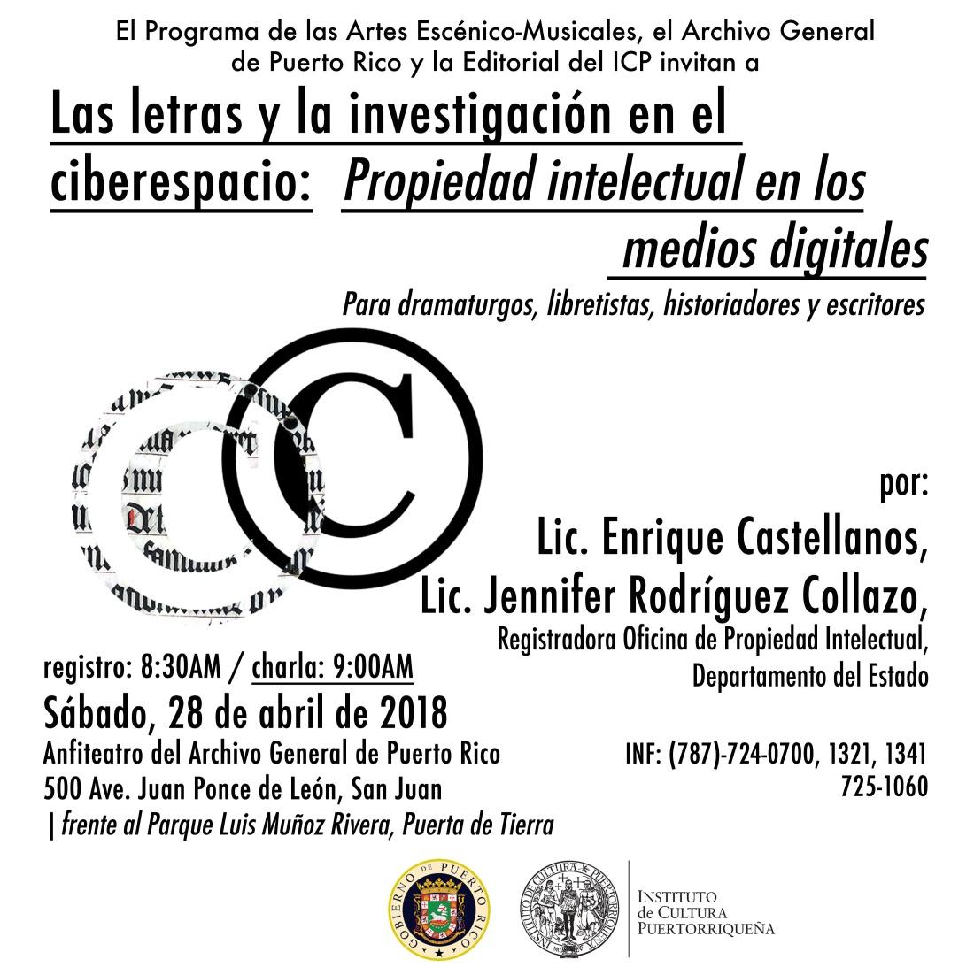 Las letras en el ciberespacio: propiedad intelectual en los medios digitales