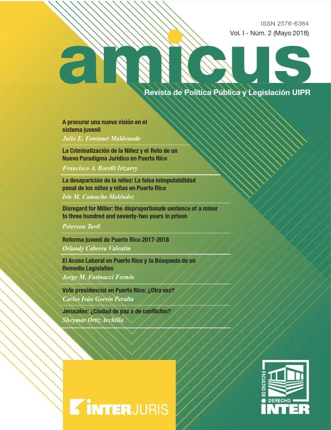 Inter Derecho: Nueva entrega de revista jurídica Amicus