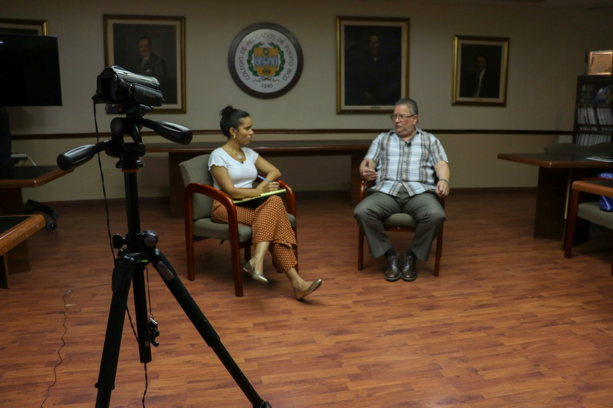 Entrevista al Lcdo. Alejandro Torres Rivera, Presidente del Colegio de Abogados (2016-2018)