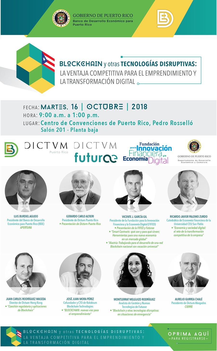 Blockchain y otras tecnologías disruptivas: la ventaja competitiva para el emprendimiento y la transformación digital