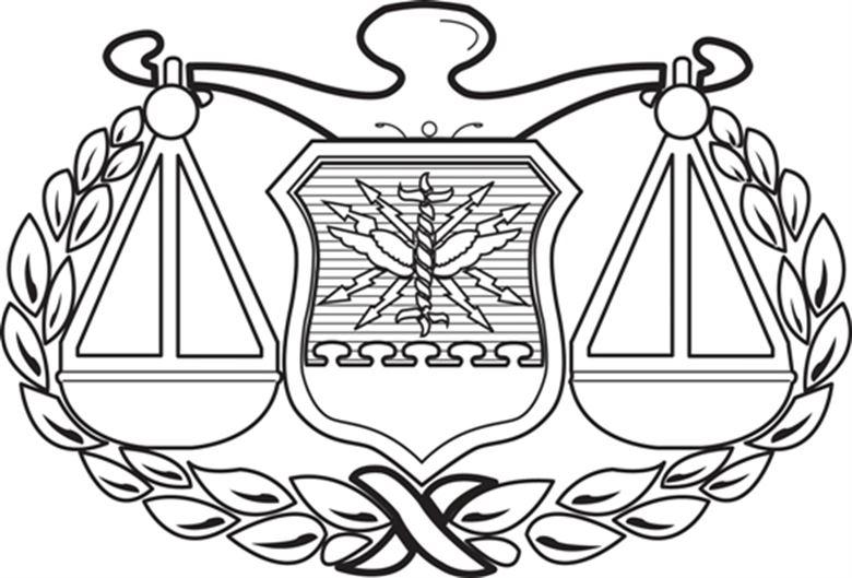 Air Force JAG Corps Badge