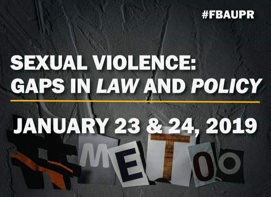 [Conferencia] Sexual Violence: Gaps in Law and Policy