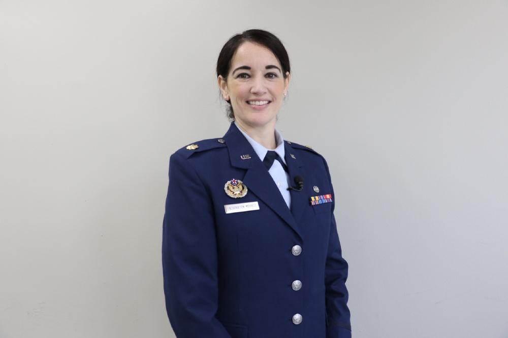 Air Force JAG Corps with Maj. Patricia Encarnación
