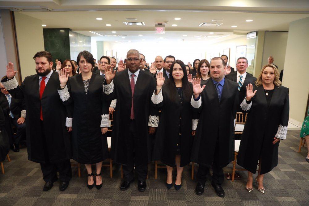 Prestan juramento 28 jueces y juezas ante el Tribunal Supremo