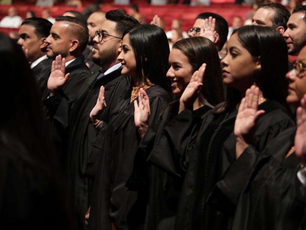 Prestaron juramento 132 nuevos abogados y abogadas