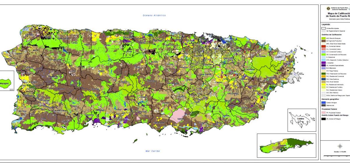 [DOCUMENTO] Proponen investigación senatorial sobre los propuestos mapas de distritos de calificación de suelos
