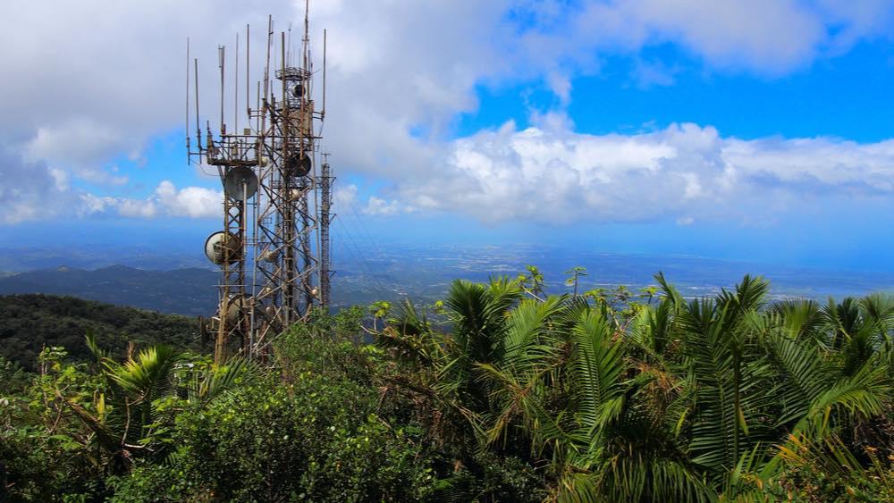 torre telecomunicaciones el yunque