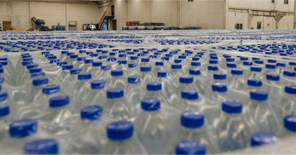 agua almacén