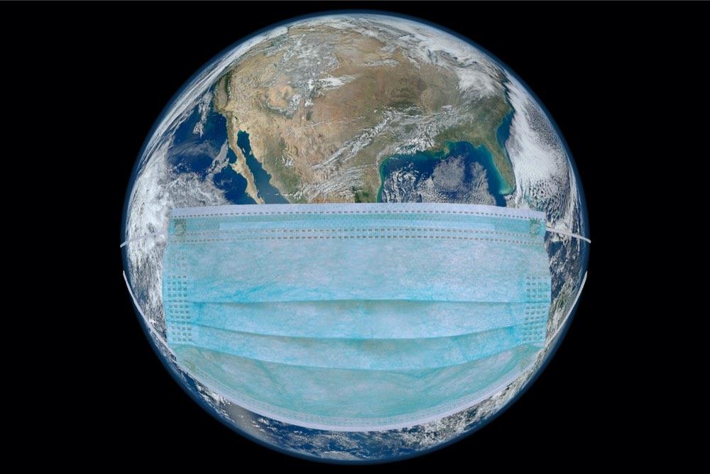 Coronavirus planeta tierra