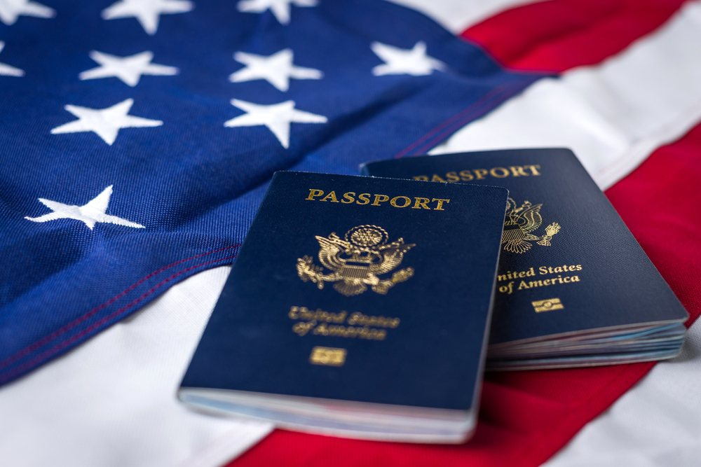 pasaportes EEUU