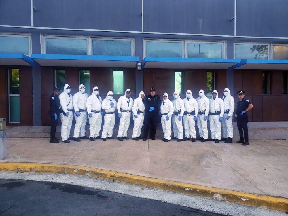 Foto: Policias municipales de Puerto Rico (Facebook)