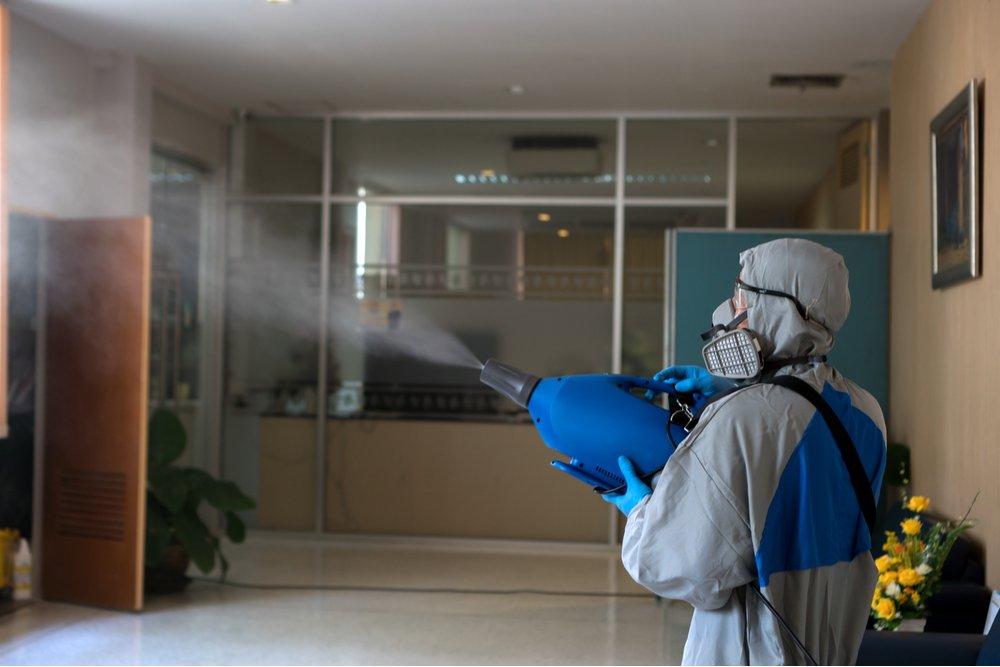 desinfectar oficina covid-19
