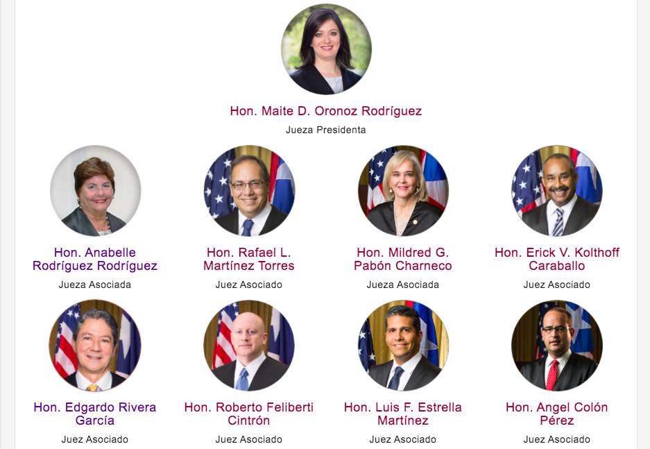 Tribunal Supremo de Puerto Rico (TSPR)