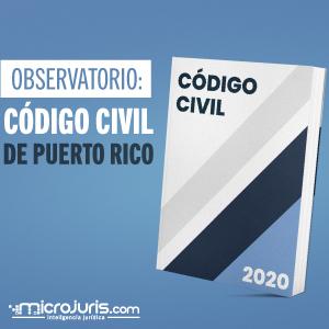 Observatorio: Código Civil de Puerto Rico