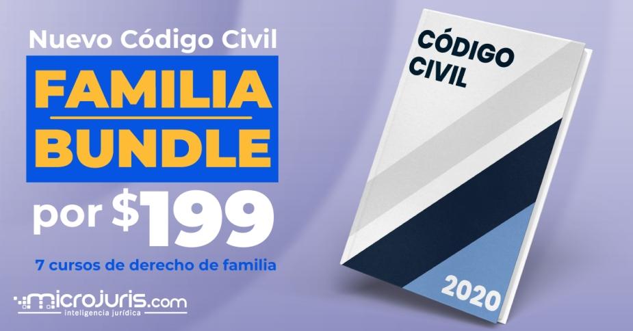 Familia - Código Civil Bundle